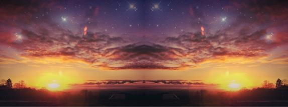 Sunset Syemmetry. Lickey Hills Birmingham