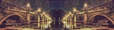 All paths lead to the same place. Richmond Bridge